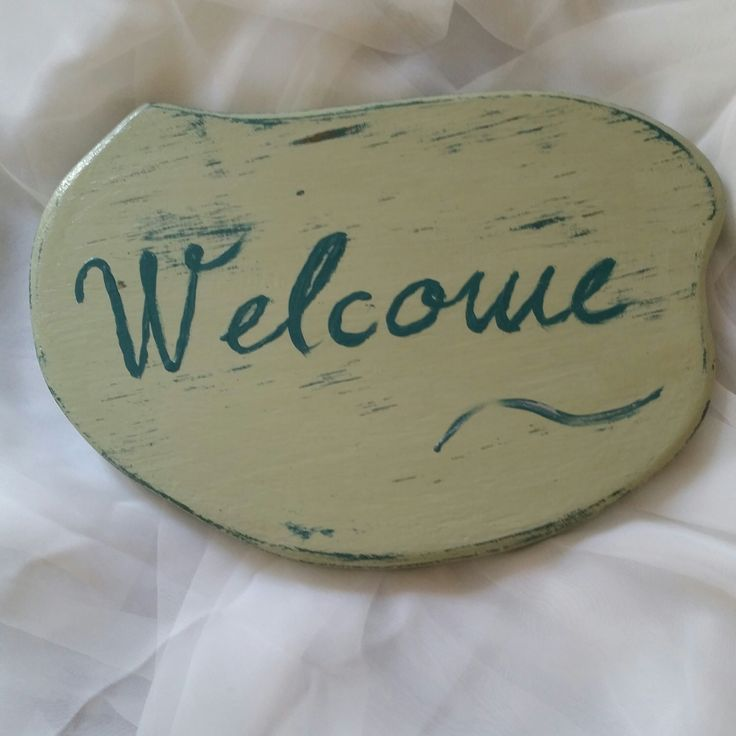 welcome decoration
