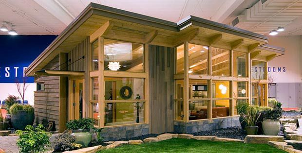 458 best tiny house big ideas images on pinterest tiny for Prefab guest homes