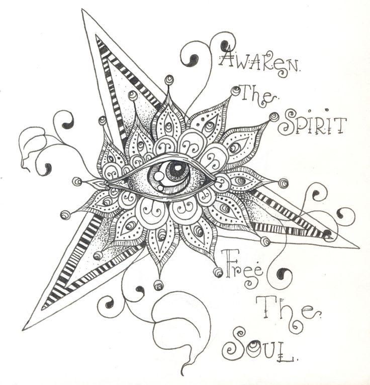 .  @Maddie DanielsArt Doodles, Third Eye, Zentangle Ideas, Simple Words, Zentangle Art, Art Journals, Artists Express, Google Search, Zentangle Doodles