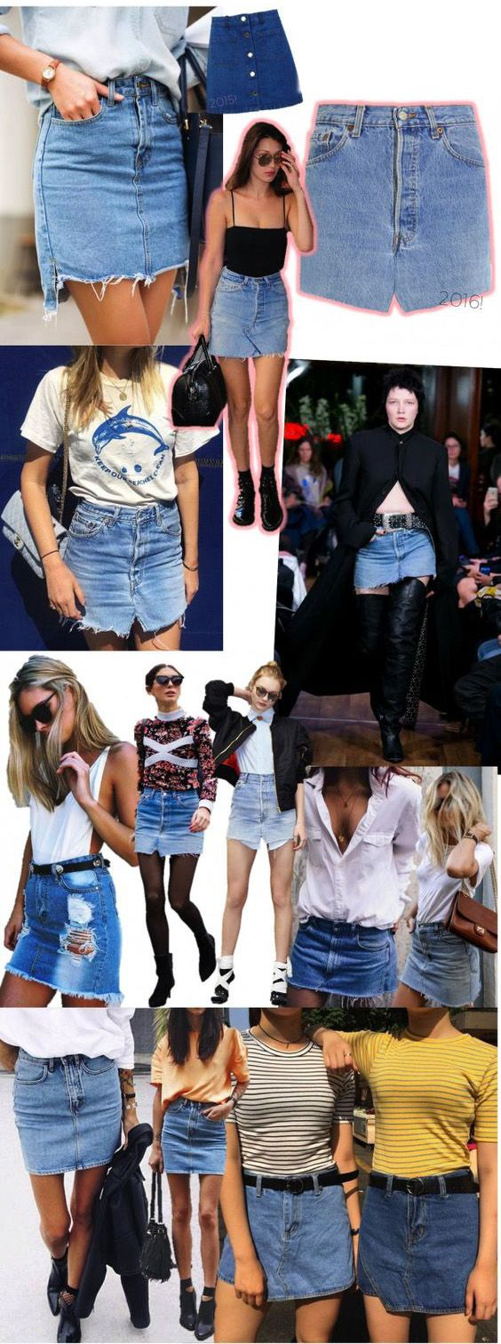 It's back and it's better than ever. The denim skirt, once the style staple of the seventies, has been reinvented for today's woman, and if you don't have at least one in your wardrobe, you're behind the times. Nowadays, there's a denim skirt outfit for virtually every occasion and season. There's plethora of different designs, including the pencil denim skirt, flared skirt, classic biker design, A-line denim skirt and many more, so you'll have no trouble finding one you love.