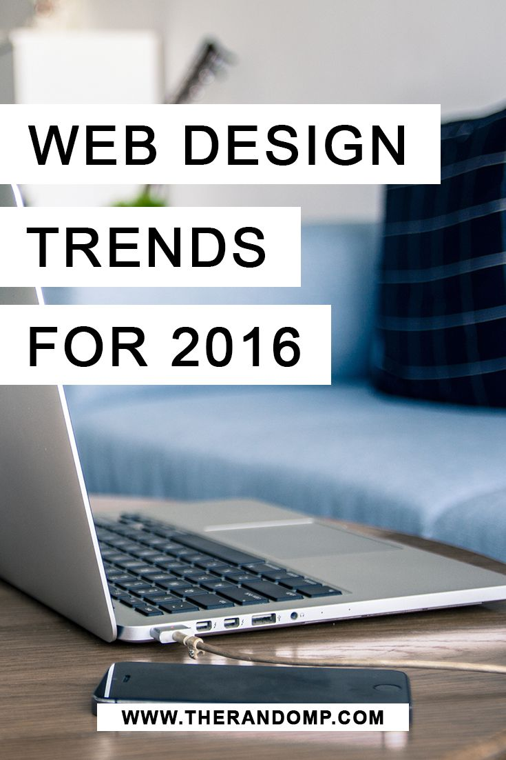 Web design trends for 2016! http://therandomp.com/blog/web-design-trends-for-2016