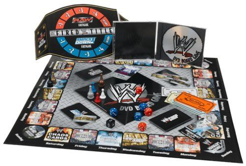 WWE DVD Board Game $14.50