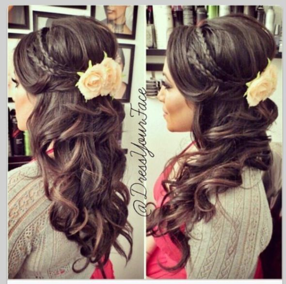 up   I Dos Up you lets do Weddingbee Braids      October inspiration  Hair    shoes and bill  see brides    kill make   and hair