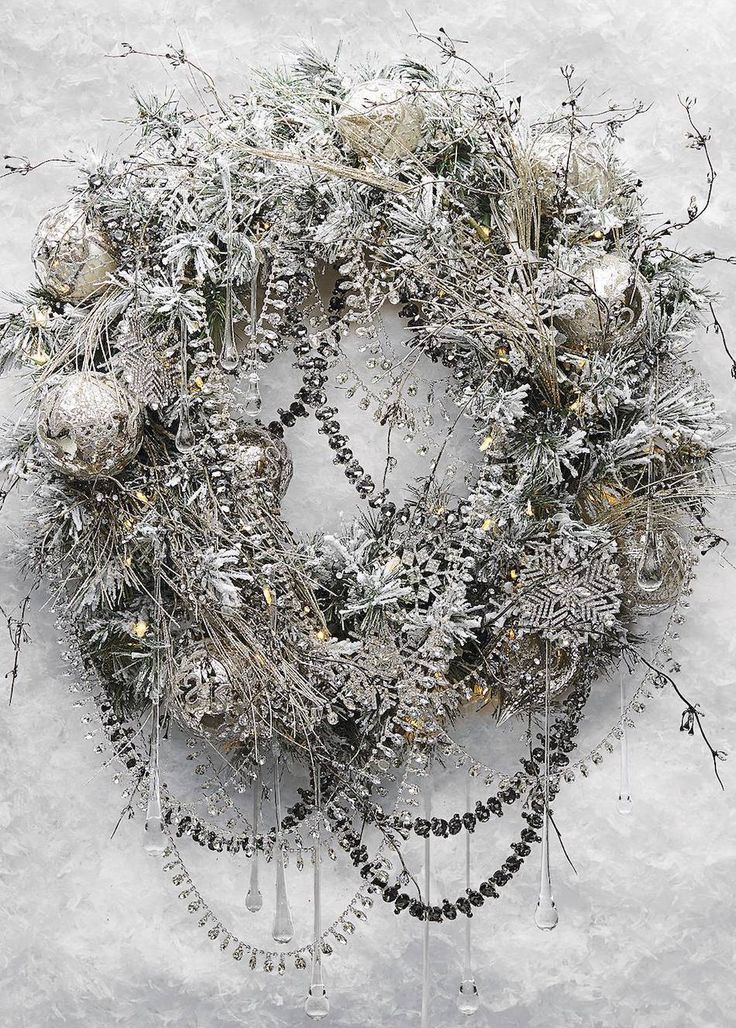 Frontgate Glitzy and Glamorous Wreath