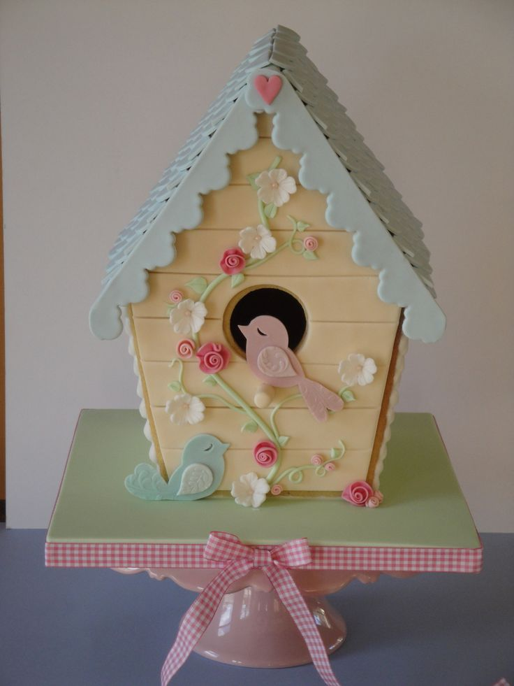 Vanilla bean Cookie Bird House