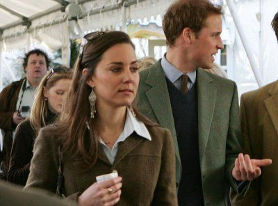 At Cheltenham, All Is Not Well Between William And Kate - 13 March 2007: