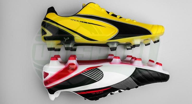 Puma - King SL Black/White & Yellow/Black