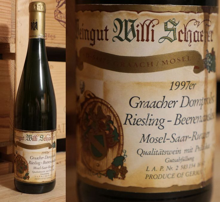 1997er Graacher Domprobst - Riesling Beerenauslese - Goldkapsel - Willi Schäfer
