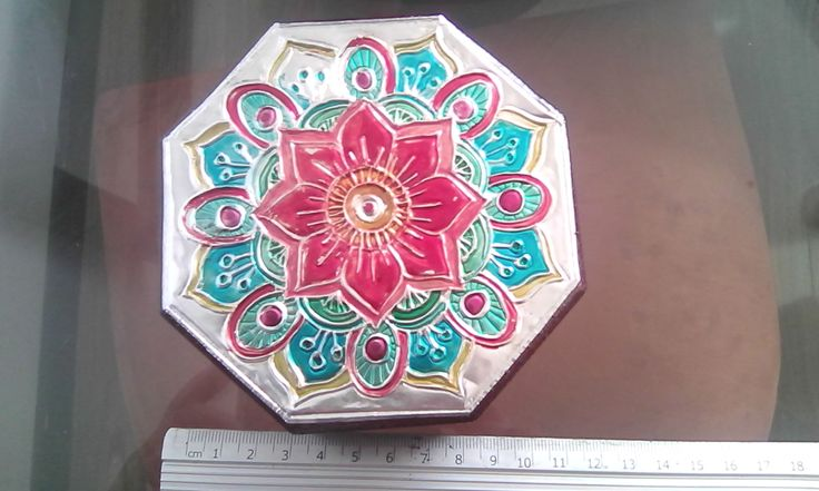 Cofre octagonal mandala