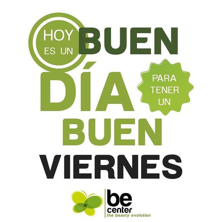 Feliz Viernes. #becenter #felizviernes #friday #estetica #cirugia #clinica #plastica #beauty #belleza #salud #cirujanos.