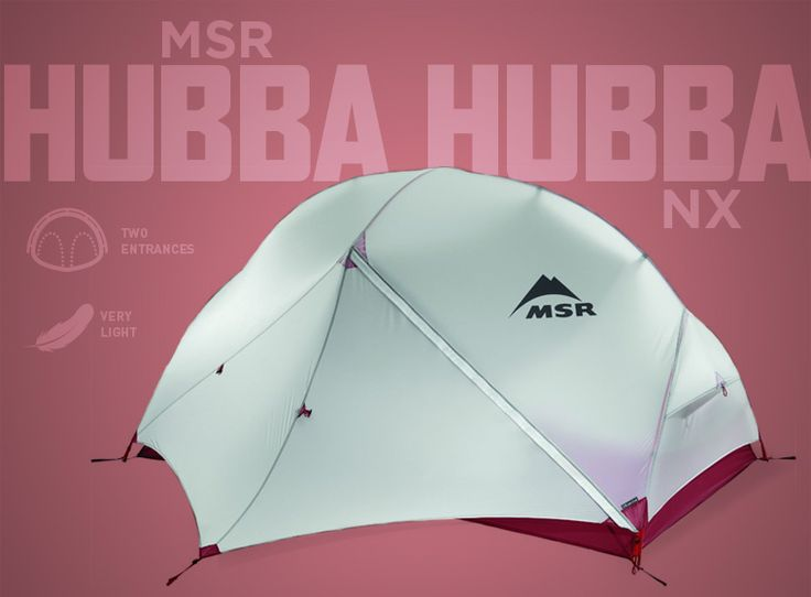 MSR Hubba Hubba NX lightweight tent... Need to know which backpacking tent you need in your life this summers' adventures? Check out our guide to the best backpacking tents.