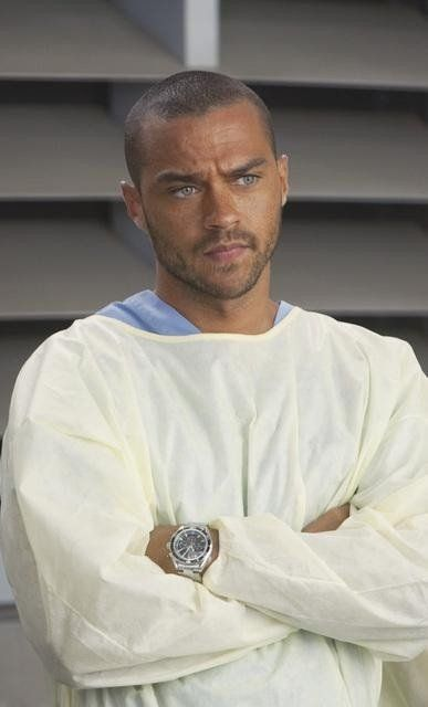 Jesse Williams. Jackson Avery. Mr. Perfect.