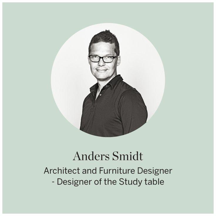 Designer Anders Smidt #FLEXA #Designers #Studytable #art #kids