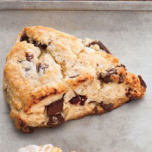 Chocolate-Cherry Scones Recipe | MyRecipes.com