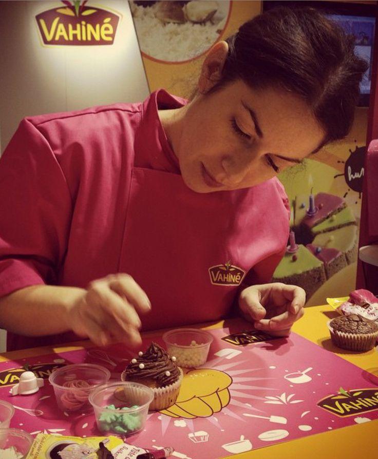 Venez passer un bon moment avec Audrey au salon du chocolat sur le stand vahiné