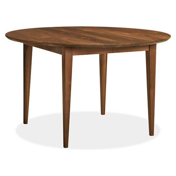 Room & Board - Adams 48 diam 29h Extension Table