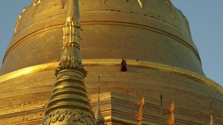 De Vuelta al Mundo: Shwedagon Paya (Pagoda-Estupa)