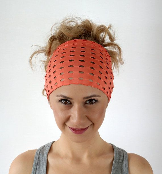 No sweat Headband Hairband Women's by ChamomileAccessories on Etsy