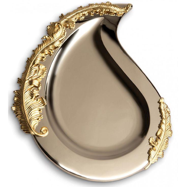 Lamina oval platter by lobjet