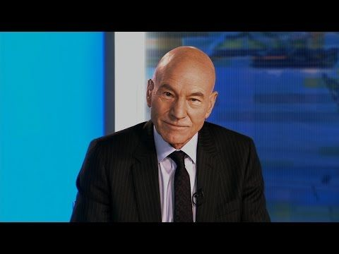Patrick Stewart Snorts Coke as Out-of-Control News Anchor in New Series Blunt Talk