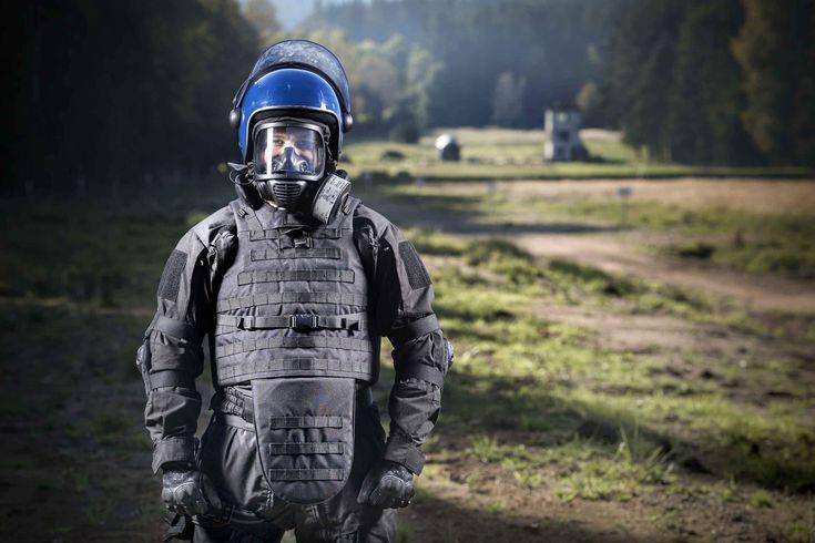Cm6m tactical gas mask fullface respirator for cbrn