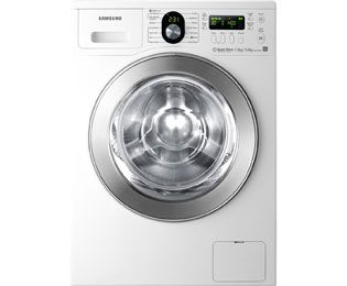 Samsung WD1704RJE1 Washer Dryer Freestanding White / Chrome
