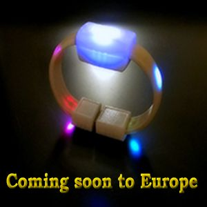Coming in 2015. Bracelet with new revolutionized LED technique and controls.