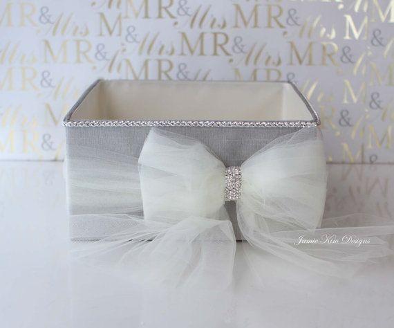 Wedding Open Box/ Program Box / Bubble Box by jamiekimdesigns