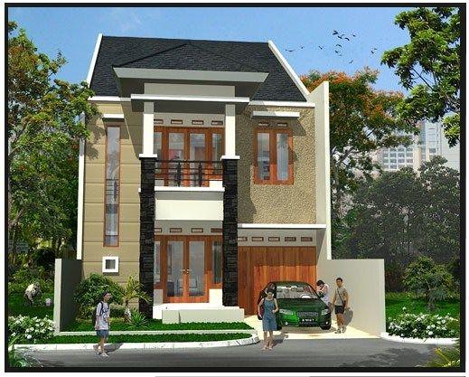 Desain Rumah Minimalis Type 45 Modern 11