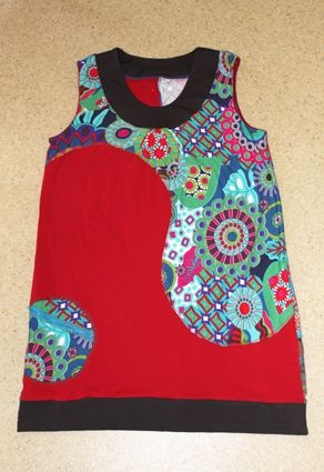 &Un vêtement en plusieurs parties&: c'est le thème du projet commun de mars/avril du groupe Planète Couture. L'occasion rêvée expérimenter de nouvelles options de couture en réalisant une tunique en patchwork de jerseys ! Le projet et le patron Après...
