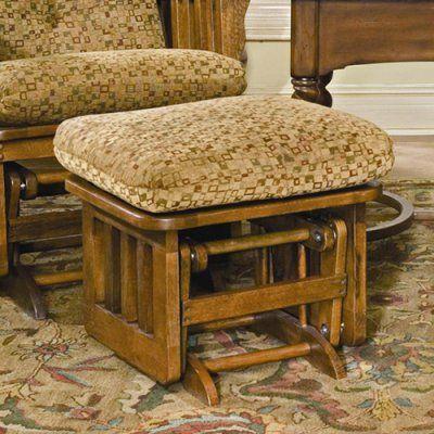 Brooks Furniture Mission Dark Oak Ottoman Landmark Lodge - 1903-4139-01, BROO036-40