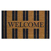 Madras Link Welcome Home Doormat