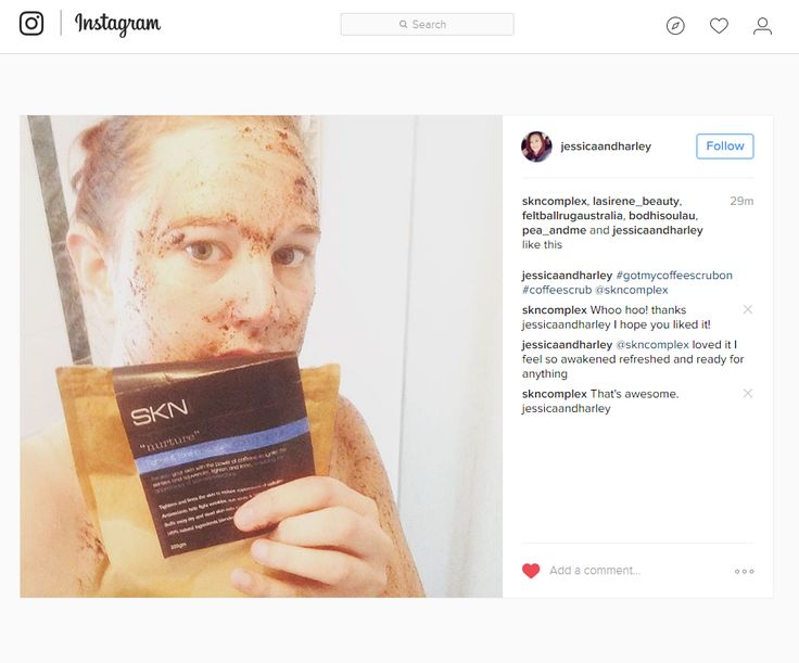 People are starting to #gettheircoffeescrubon.  Thanks Jessica,  really happy you loved SKN's Tighten & Tone Coffee Scrub. Repost: Instagram