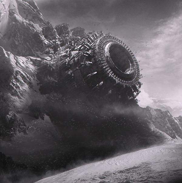 B&W concepts on Behance