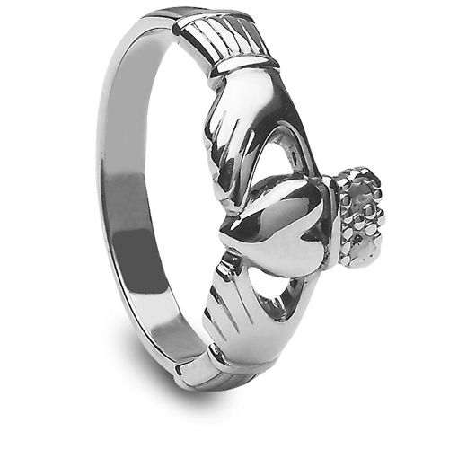 Ladies Silver Claddagh Ring - always wanted one of these. Don't know why.