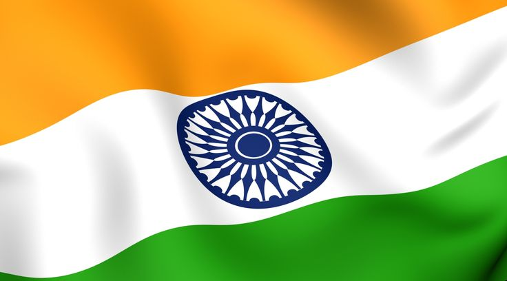 Flags of The World – India National Flag in Fluttering