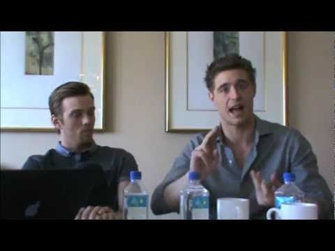 Max Irons and Jake Abel - hilarious 'The Host' Press Junket Interview