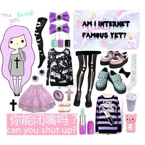Pastel goth clothes - polyvore - polyvore: discover and, A collection of 52 items featuring wildfox tops, wildfox t-shirts and american vintage blouses. Description from makeupnet.info. I searched for this on bing.com/images