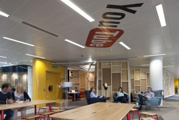 YouTube's London offices by Penson Group