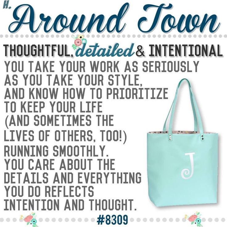 "What's your Thirty-One  purse-onality? Spring/Summer 2017 online party game   ""Around Town"" Tote"