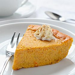 Share on Tumblr I followed this recipe to make crustless pumpkin pie. Its taste is a combination between pumpkin pie and cheesecake. Even though it is already low in calories and carbohydrates and therefore suitable for diabetics, you can still replace sugar with sugar substitute. Print Crustless Pumpkin Pie Serves:8… Read more »