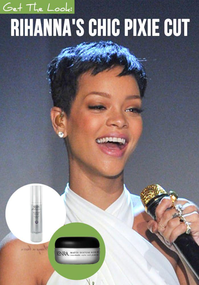 rihanna hair cut   The Rihanna Pixie Cut - How To Get Rihanna's Chic Pixie Hairstyle ...