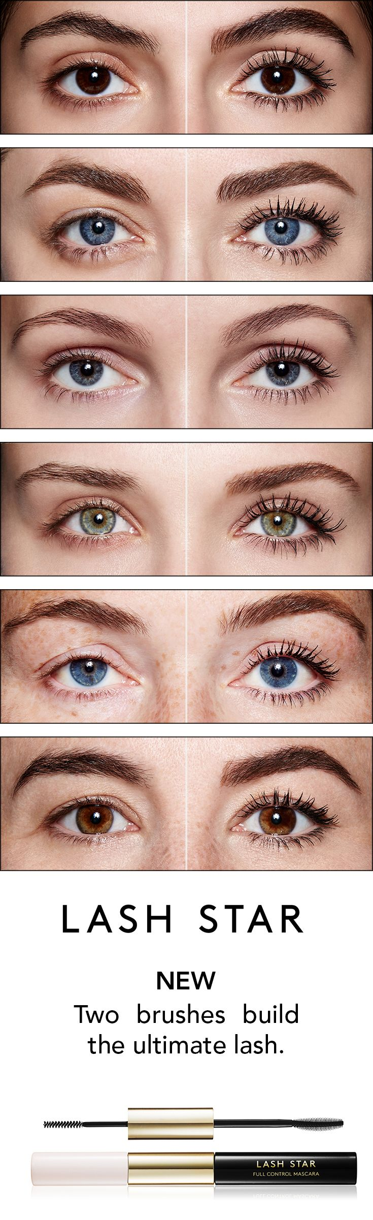 This breakthrough patented #mascara duo features two unique formulas and brushes…
