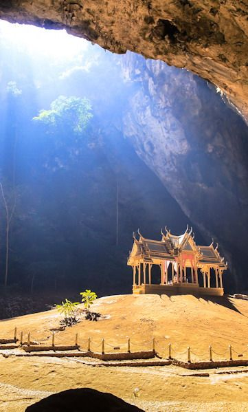 #Phraya_Nakon_Cave, Nature's Divine Temple #Khao_Sam_Roi_Yot_National_Park or #Mountain_of_300_Peaks at #Prachuap_Khiri_Khan - #Thailand http://en.directrooms.com/hotels/subregion/1-1-1300/