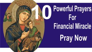 10 Powerful Prayers For Financial Miracle: Pray Now