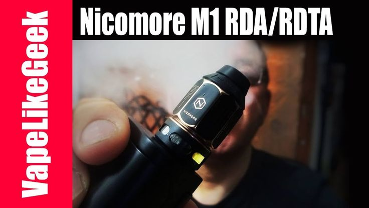 Nicomore M1 RDA/RDTA παρουσίαση και συμπεράσματα αν κάνει για όλους Nicomore M1 RDA/RDTA παρουσιαση και συμπερασματα αν κανει για ολους Περισσοτερες πληροφοριες θα βρειτε εδω http://ift.tt/2HIciHN ize: 24 x 44.4mm Capacity: 2ml Thread: 510 thread Nicomore M1 RDA_RDTA 2ml Bottom hidden air inlet channel Switchable between RDTA and RDA Non-driver building deck Lifting cone design for easy building Porcelain build deck for heat-resistant Bottom filling for anti-leaking…