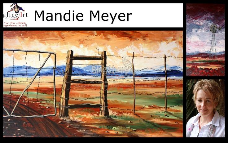 Mandie Meyer: vars vannie plaas af plaashek en al!