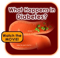 """What Happens in Diabetes?   there are TONS of other """"movies"""" to help you explain to your child their illness"""