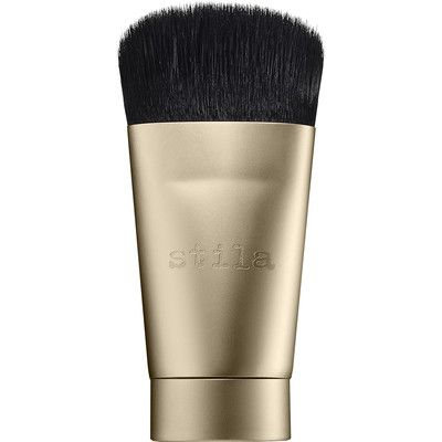 Introducing the brush of many wonders! This ultra-soft, custom shaped brush is perfect for sculpting, buffing, and blending all of your favourite powders, liquids, and creams seamlessly. Featuring ultra-soft yet dense, high-grade synthetic bristles, the unique brush is the ultimate tool to have on-hand in your makeup bag or drawer.