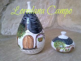 Il Bosco Incantato di Loredana Campo: terracotta decorata